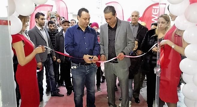 - Huawei-inaugure-un-nouveau-point-de-vente-à-Sfax