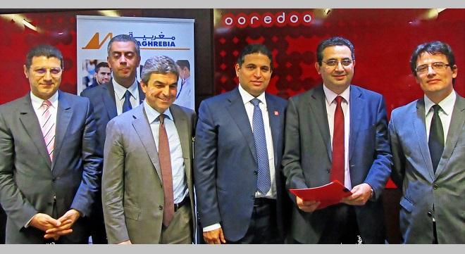 - Maghrebia-et-Ooredoo-Tunisie-lancent-le-paiement-mobile-des-primes-d'assurance-via-Mobiflouss
