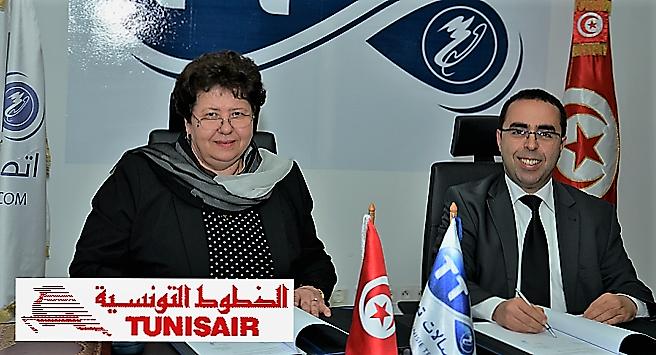 - Tunisie-Telecom-et Tunisair-signent-pour-un-partenariat-gagnant-gagnant