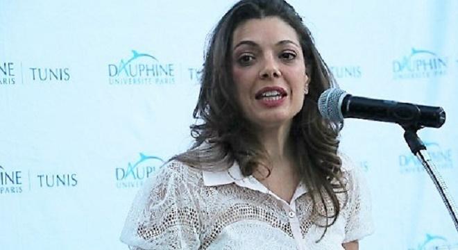 (En photo :Amina Bouzguenda Zeghal,directrice générale de Dauphine   Tunis)