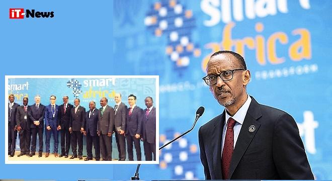 - Paul-Kagamé-Huawei-rejoint-Smart-Africa-pour-conduire-la-transformation-numérique-en-Afrique