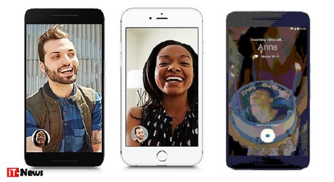 - Google-Duo-une-nouvelle-application-gratuite-pour-Android-de-chat-vidéo-téléchargée-5-millions-de fois