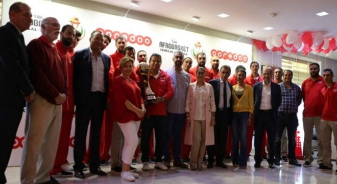 Ooredoo Tunisie Honore La Selection Nationale De Basketball It News