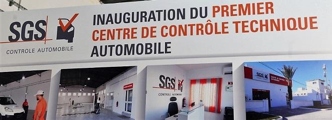 inauguration du premier centre de contr le technique automobile et lancement de la division. Black Bedroom Furniture Sets. Home Design Ideas