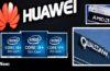L'exclusion de Huawei du marché des États-Unis entraine des pertes colossales (en millions de dollars) pour Intel, AMD et Qualcomm